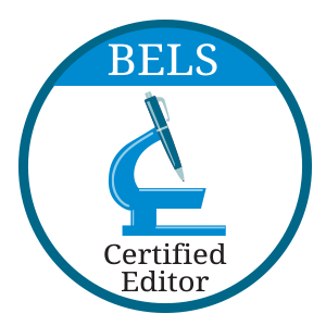 Member of BELS since 2008 and board-certified editor in the life sciences (ELS)